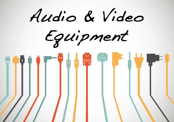 November 2018 Gathering: Audio & Video Equipment