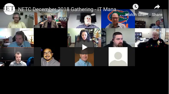 December 2018 Recording: IT Management: Turning Issues into Opportunities