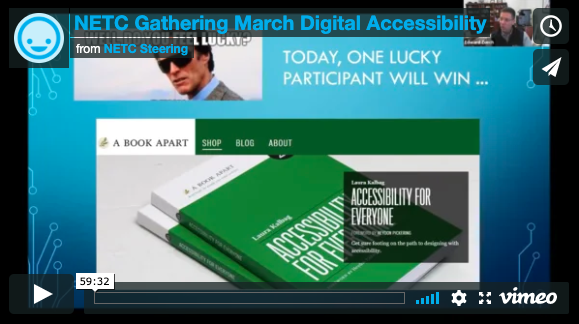 March 2019 Recording: Digital Accessibility
