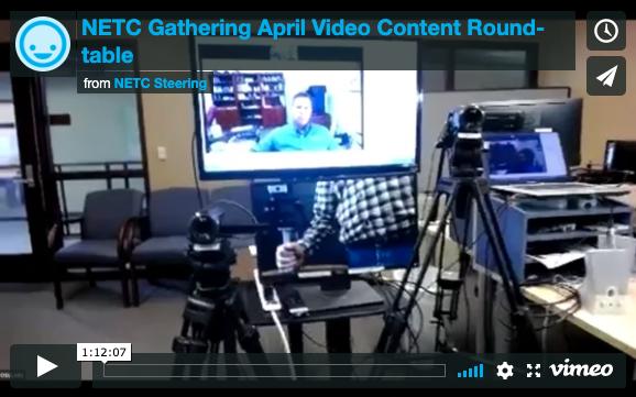 April 2019 Recording: Video Content Roundtable