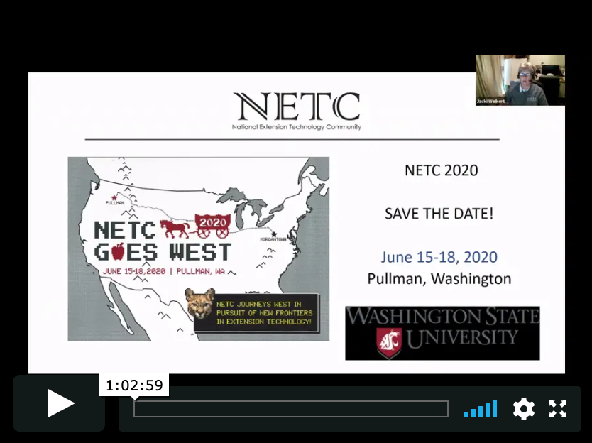 NETC Gathering July 2019: Atlanta, GA to Ashwaubenon: Zoom from Coast to Coast