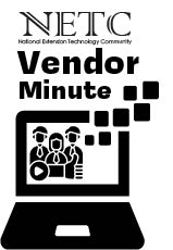 NETC vendor Minute logo with computer and people icons